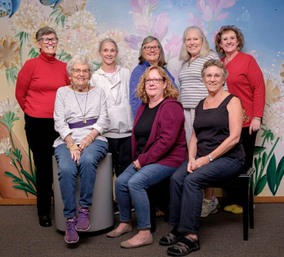 Photo of the El Segundo Friends of the Library group