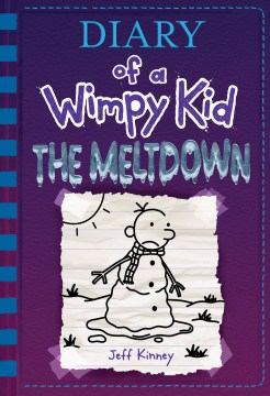 book cover of diary of a wimpy kid meltdown by jeff kinney
