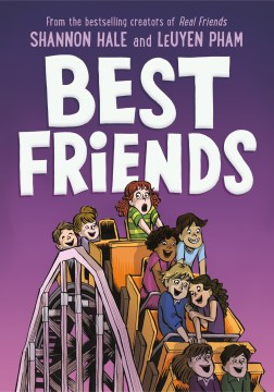 book cover of best friends by shannon hale and leuyen pham