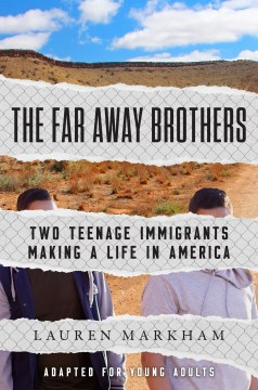 book cover of far away brothers by lauren markham