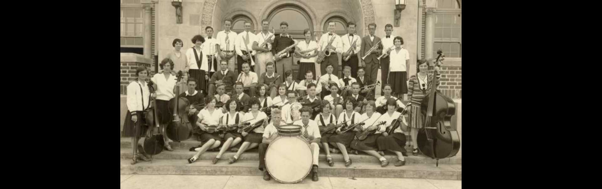 El Segundo High School Orchestra 1930