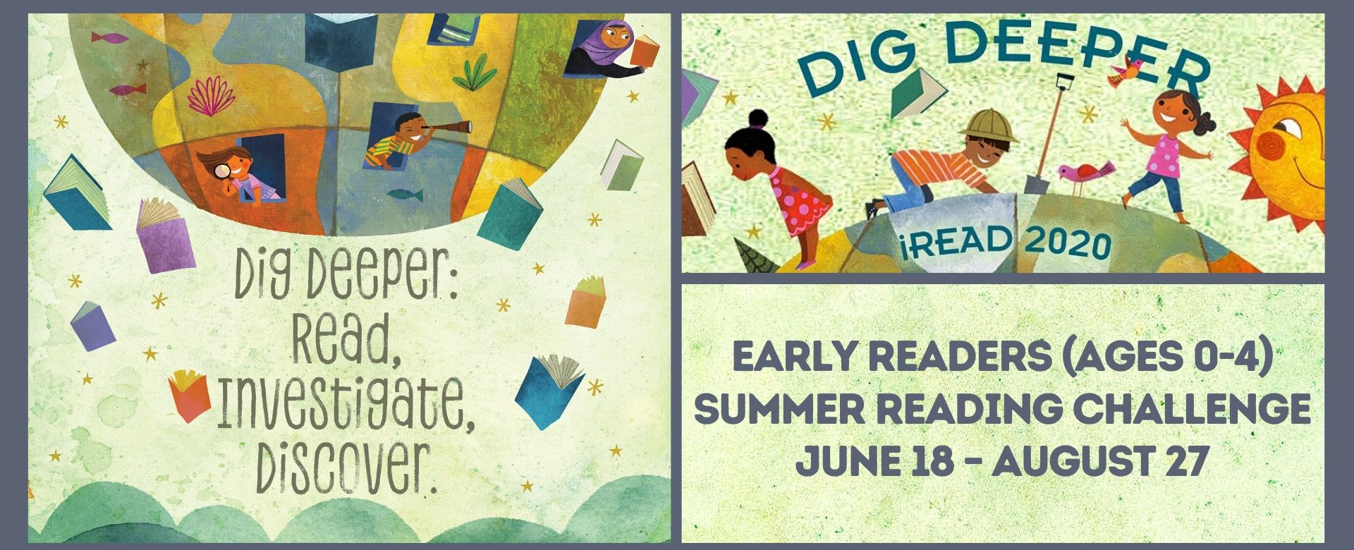 Early Reader Dig Deeper